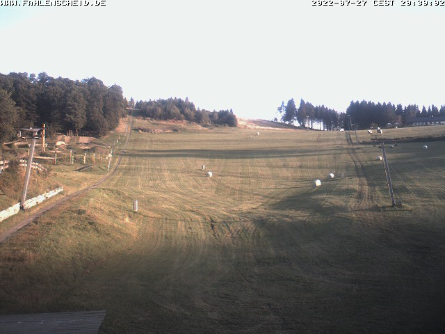 Webcam Ski Resort Olpe - Fahlenscheid Sauerland